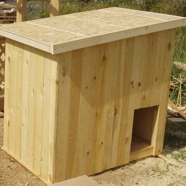сборка будки для собаки