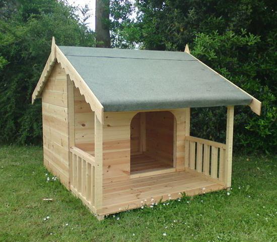 Как сделать теплую будку для собаки: чертежи, фото 39