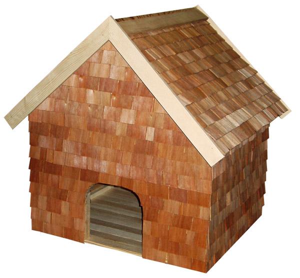 будка для маленькой собаки из шинделя