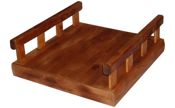лежак для маленькой собаки массивный