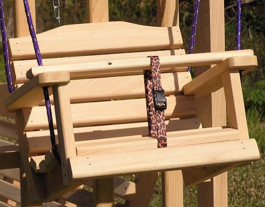 Детские подвесные качели для дома своими руками