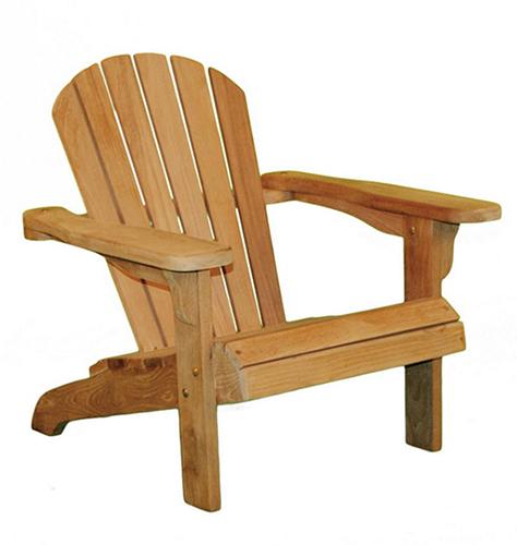 Садовое кресло из дерева